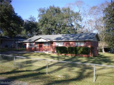 Mobile County Single Family Home For Sale: 132 Bemis Street