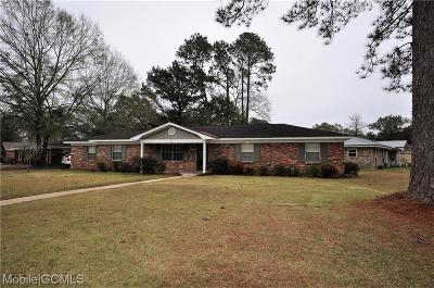 Mobile County Single Family Home For Sale: 113 Craig Drive