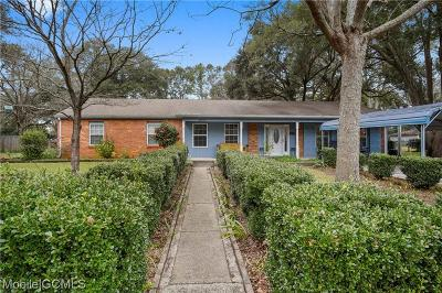 Mobile County Single Family Home For Sale: 4670 Bit & Spur Road