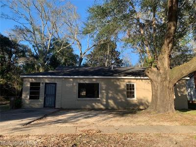 Mobile Single Family Home For Sale: 2354 Octavia Drive