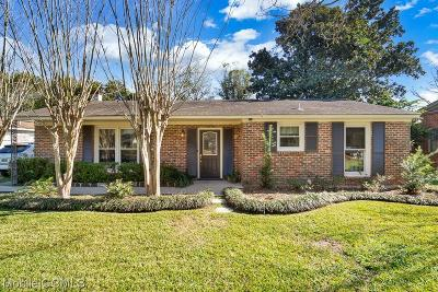 Mobile Single Family Home For Sale: 505 Barksdale Drive E