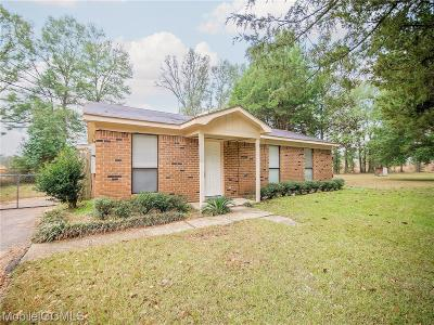 Mobile County Single Family Home For Sale: 9375 Bohannon Road