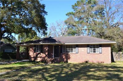 Mobile Single Family Home For Sale: 2758 Grafhill Drive