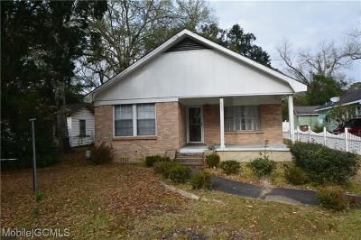 Mobile Single Family Home For Sale: 962 Duval Street