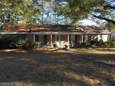 Mobile Single Family Home For Sale: 1902 La Pine Drive