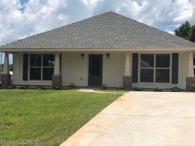 Mobile Single Family Home For Sale: 2127 Lumpkin Grove Lane