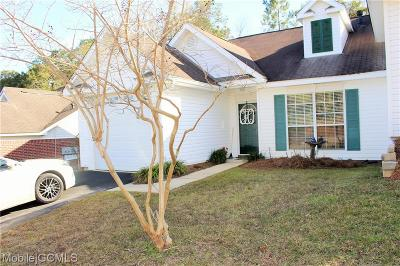 Mobile Single Family Home For Sale: 7247 Spring Lake Drive S