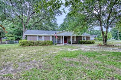 Mobile Single Family Home For Sale: 4704 Rawleigh Drive