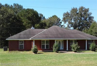 Creola Single Family Home For Sale: 9429 Old Highway 43