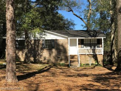 Theodore Single Family Home For Sale: 8304 Lake Myrtle Drive