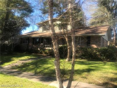 Mobile Single Family Home For Sale: 308 Thornhill Circle