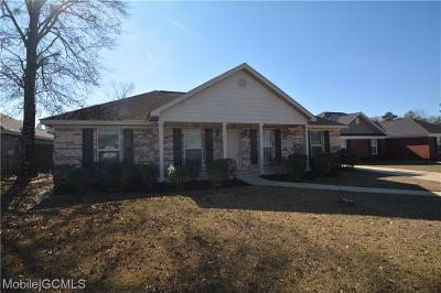Semmes Single Family Home For Sale: 8103 Foxtail Lane