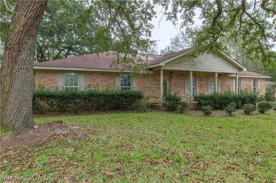 Bayou La Batre Single Family Home For Sale: 13271 Center Avenue