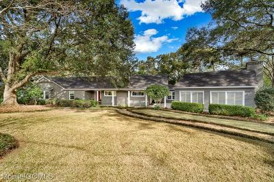 Mobile County Single Family Home For Sale: 4210 Wilkinson Way