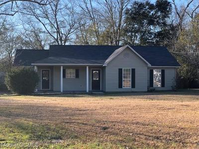 Citronelle Single Family Home For Sale: 19845 Indiana Street