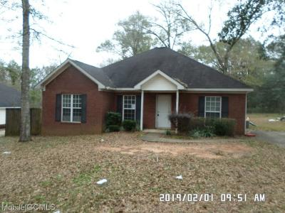 Theodore Single Family Home For Sale: 5893 Harmon Lane