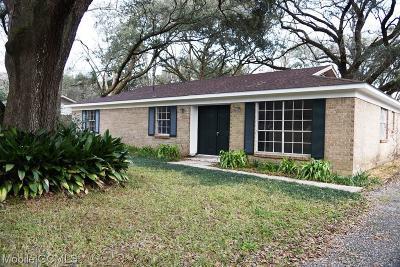 Theodore Single Family Home For Sale: 6650 Apache Run