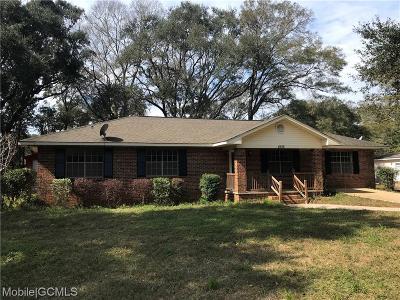 Mobile Single Family Home For Sale: 4516 Diamond Avenue