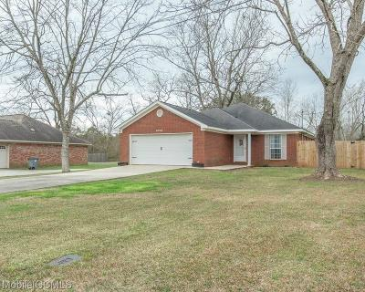 Theodore Single Family Home For Sale: 6068 Creel Road