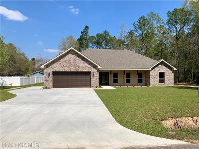 Saraland Single Family Home For Sale: 980 Robert Williams Drive