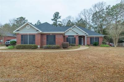 Semmes Single Family Home For Sale: 3993 Blakewood Drive W