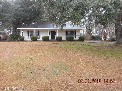 Theodore Single Family Home For Sale: 7290 Stuart Drive
