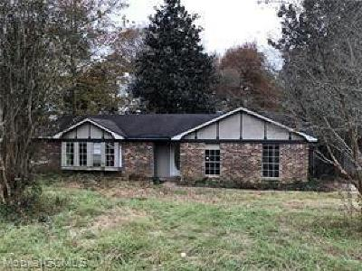 Semmes Single Family Home For Sale: 9685 Howells Ferry Road