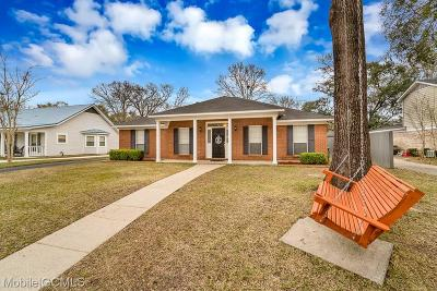 Mobile Single Family Home For Sale: 6612 Blakeley Court