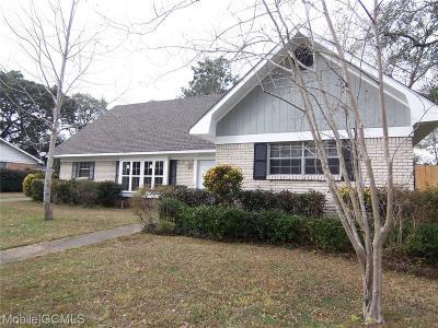 Mobile Single Family Home For Sale: 6258 Sarnen Drive