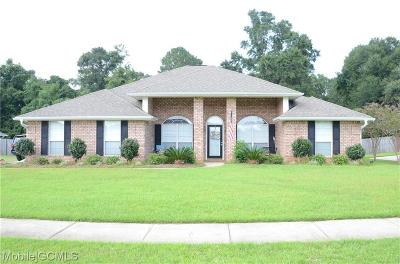 Mobile Single Family Home For Sale: 10742 Middle Oak Drive