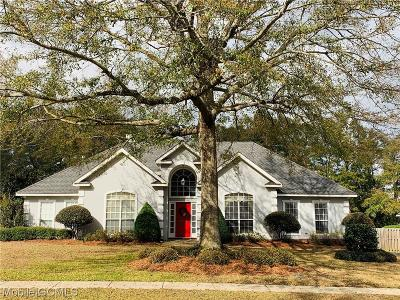 Mobile Single Family Home For Sale: 7230 Oakbriar Drive N
