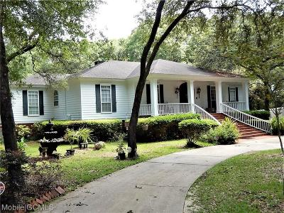 Mobile County Single Family Home For Sale: 8200 Whisper Lakes Court