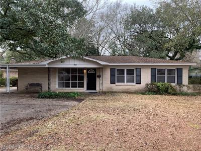 Mobile Single Family Home For Sale: 4250 Raines Drive