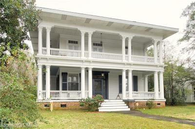 Mobile Single Family Home For Sale: 1323 Dauphin Street