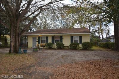 Mobile Single Family Home For Sale: 1121 Desoto Drive