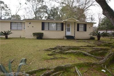 Mobile Single Family Home For Sale: 2455 Pineway Drive N