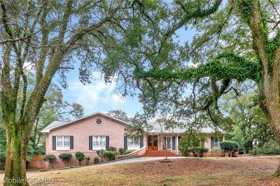 Mobile County Single Family Home For Sale: 101 Jordan Lane