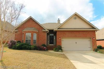 Mobile Single Family Home For Sale: 2534 Hedgerow Drive