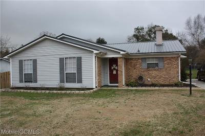 Theodore Single Family Home For Sale: 8055 Oak Bend Drive