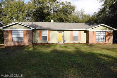 Mobile Single Family Home For Sale: 7150 Burning Tree Court