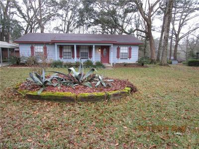 Theodore Single Family Home For Sale: 5676 Woodchase Circle E