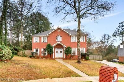 Mobile Single Family Home For Sale: 6763 Biltmore Court