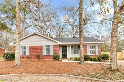 Mobile Single Family Home For Sale: 2925 Ironwood Drive