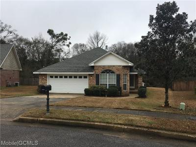 Theodore Single Family Home For Sale: 5070 Cheyenne Street W