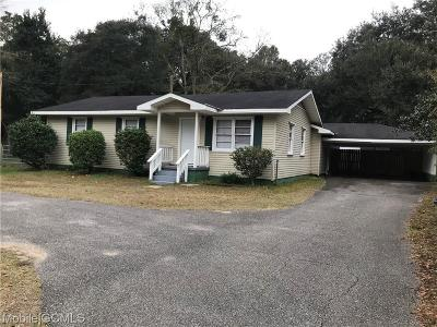 Mobile Single Family Home For Sale: 4716 Bush Lane