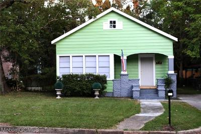Mobile Single Family Home For Sale: 609 Westwood Street