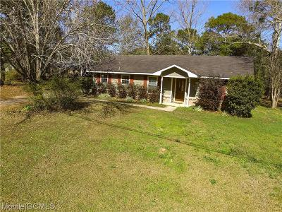 Mobile Single Family Home For Sale: 10310 Southhill Drive