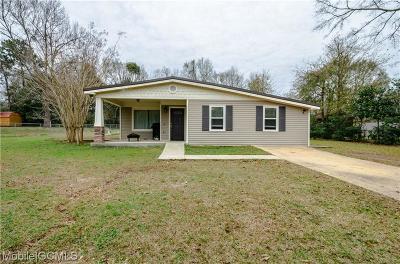 Theodore Single Family Home For Sale: 6710 Oaklane Drive