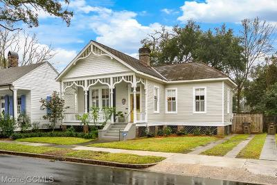 Mobile Single Family Home For Sale: 955 Augusta Street