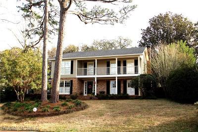 Mobile Single Family Home For Sale: 5609 Regency Oaks Drive N